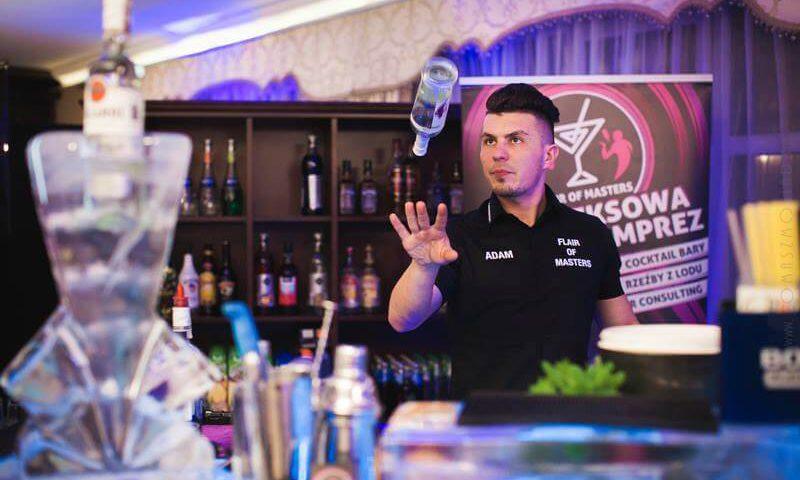 Mobilny drink bar na weselu