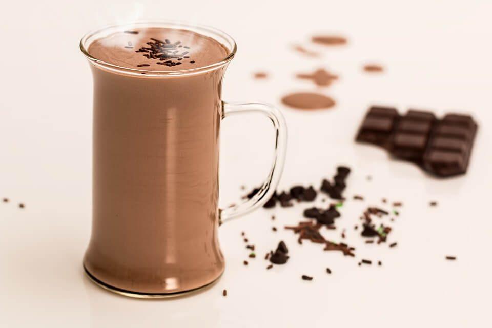 Gorąca czekolada z alkoholem